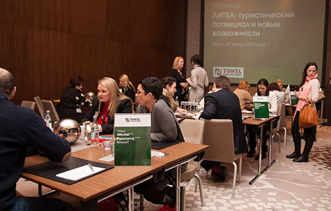 Workshop «Lithuania: tourist potential and new facilities» in Minsk on the 27th of January 2015.